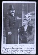 GERMANIA - DEUTSHLAND - 1905 - UNSER KAISERPAAR AUFGENOMMENIM NOVEMBER 1899 IN LONDON - Case Reali