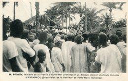 DAHOMEY(AVRANKOU) MINISTRE - Dahomey