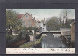 Pays Bas - Carte Postale De 1906 - Oblit 's Hertogenbosch Station - Exp Vers Liège - Vue Oude Diest - Ponts - Periode 1891-1948 (Wilhelmina)