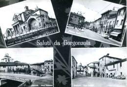 N°65536 -cpsm Gorgonzola -saluti- - Italy