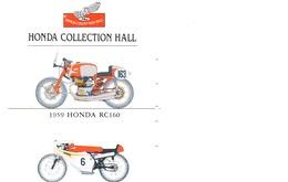 HONDA Télécarte Japon Moto Motor Sports - Sport  Phonecard (G 445) - Motos