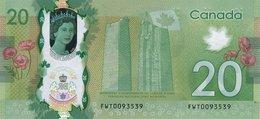 CANADA P. 111  20 D 2015 UNC - Canada