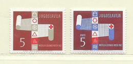 YOUGOSLAVIE  ( EU-193 )  1962  N° YVERT ET TELLIER  N° 49/50   N** - Wohlfahrtsmarken