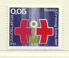 YOUGOSLAVIE  ( EU-198 )  1967  N° YVERT ET TELLIER  N° 56   N** - Wohlfahrtsmarken