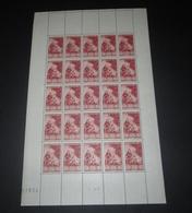 France 1946 Neuf** N° 753 Le Musée Postal FRAGONARD Feuille Complète - Feuilles Complètes