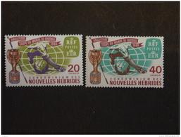Nouvelles-Hebrides 1966 Coupe Du Monde De Football Yv 235-236 MNH ** - Légende Française