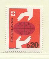 YOUGOSLAVIE  ( EU- 200 )  1969  N° YVERT ET TELLIER  N° 58   N** - Wohlfahrtsmarken