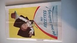 PETIT LIVRE DE RECETTES ALSA - Advertising