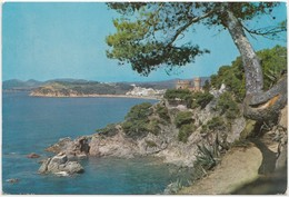 "LLORET DE MAR, Costa Brava, Vista Parcial Desde Cala Frares""vue Par, 1966 Used Postcard [22075] - Gerona"