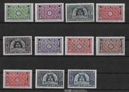 1947 1949 Tunisie N° 314 à 319A Nf** MNH.. Série Complète. - Nuovi