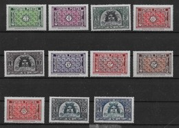 1947 1949 Tunisie N° 314 à 319A Nf** MNH.. Série Complète. - Ungebraucht