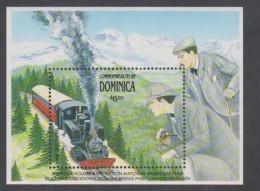 Dominique BF N° 175 XX Trains Suisses ( I ), Le Bloc  Sans Charnière, TB - Dominique (1978-...)