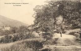 ROUTE DE VALLERAUGUE à Aigoual, La Panisse. - Valleraugue