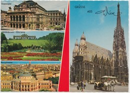 Grusse Aus Wien, Greetings From Vienna, Austria, 1979 Used Postcard [22078] - Other