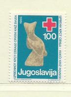 YOUGOSLAVIE  ( EU- 212 )  1980  N° YVERT ET TELLIER  N° 76    N** - Wohlfahrtsmarken