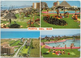 PORTA DEL MAR, TARRAGONA, Spain, 1972 Used Postcard [22079] - Tarragona