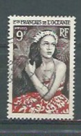 OCEANIE - Yvert N° 203  Oblitéré  JEUNE FILLE DE BORA BORA - Océanie (Établissement De L') (1892-1958)