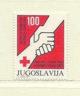 YOUGOSLAVIE  ( EU- 215 )  1982  N° YVERT ET TELLIER  N° 80    N** - Wohlfahrtsmarken
