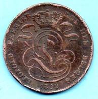 NO/  BELGIQUE / BELGIUM  5 CENTS 1849  French Légend - 1831-1865: Léopold I.