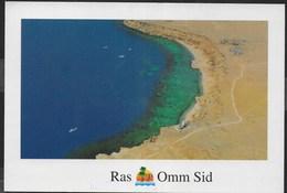 EGITTO - SUD SINAI - RAS OMM SID - FORMATO GRANDE - 17X12 - VIAGGIATA - Egitto