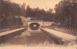 Condes Tunnel Canal Thème Péniche Péniches Canton Chaumont - Sonstige Gemeinden