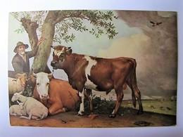 ARTS - TABLEAU - Le Jeune Taureau - P. Potter - Pittura & Quadri