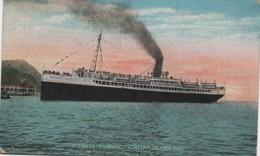 Marine/Steamer AVALON/ Catalina Island /Californie/ 1920  MAR63 - Commerce