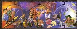 Niue 1999 Yvertn° 714-716 *** MNH Cote 9 Euro Passage à L' An 2000 - Niue