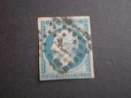 TIMBRE FRANCE NAPOLEON EMPIRE N°14 BUREAUX DE PARIS LETTRE K - 1849-1876: Classic Period
