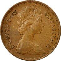 Monnaie, Grande-Bretagne, Elizabeth II, 2 New Pence, 1979, TTB, Bronze, KM:916 - 1971-… : Monnaies Décimales