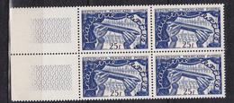 N° 881 Exposition Internationale De Lille Navette De Métier à Tisser: Un Bloc De 4  Timbres Impeccable - Unused Stamps