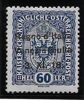Italie Vénétie Julienne N°12 - Neuf * Avec Charnière - TB - 8. WW I Occupation