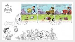 Israel - Postfris / MNH - FDC Stripfiguren 2018 - Israël