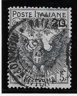 Italie N°101 - Oblitéré - TB - Italien