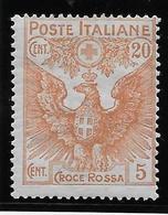 Italie N°100 - Neuf * Avec Charnière - TB - Italien