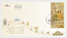 Israel - Postfris / MNH - FDC Jerusalem Of Gold 2018 - Israël