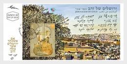 Israel - Postfris / MNH - FDC Sheet Jerusalem Of Gold 2018 - Israël