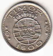 PORTUGAL - TIMOR 1958     1 ESCUDO .  EBC .VER FOTO . CN 4340 - Portugal