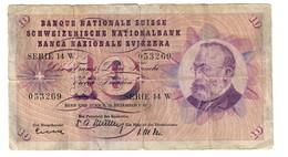 Switzerland 10 Francs 18/12/1958 - Svizzera