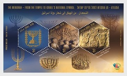 Israel - Postfris / MNH - Sheet Menorah 2018 - Israël