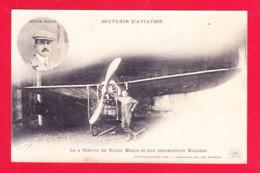 Aviation-544A102  Le Blériot De Roger Morin Et Son Mécanicien Malgras, Cpa - ....-1914: Précurseurs