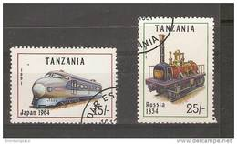 Tanzania - 1991 Locomotives CTO   SG 1083-4 - Tanzania (1964-...)