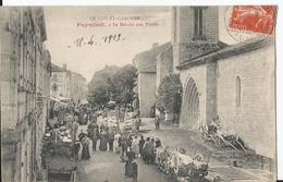 CPA - 47 - Puymirol - Marché Aux Prunes  - Rare - France
