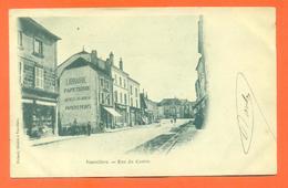"""CPA 70 Vauvillers """" Rue Du Centre """" Carte Précurseur - Autres Communes"""