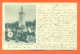 """CPA 70 Vauvillers """" Monument Commémoratif """" Carte Précurseur - Autres Communes"""