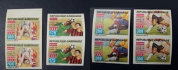 GABON 1994 IMPERF PAIRS ND - SOCCER WORLD CUP USA COUPE MONDE FOOTBALL - MNH - ULTRA RARE - World Cup