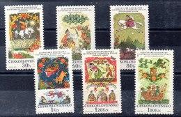 Serie De Checoslovaquia N ºYvert 1692/97 ** - Ongebruikt