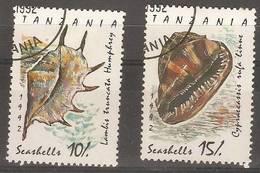 Tanzania - 1992 Shells CTO  SG 1301-2 - Tanzania (1964-...)