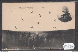 1898 AV337 AK PC CPA EVOLUTIONS DE PEGOUD LE 1 SEPTEMBRE 1913 A JUVISY NC TTB - Aviatori