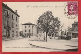 CPA: Loire - Saint Martin En Coailleux - Place De Lavalette - Autres Communes